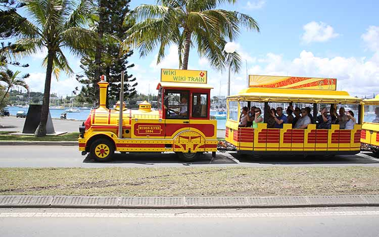 Tchou Tchou train in Noumea